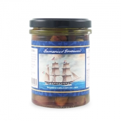 Olive Taggiasche snocciolate sott'olio, 180 gr - I Velieri