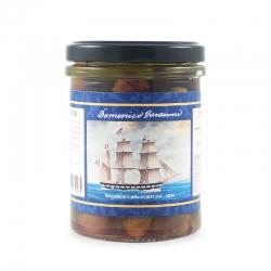 Taggiasche olives dénoyautées dans l'huile, 180 gr - I Velieri