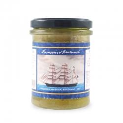 Les tomates vertes dans l'huile, 180 gr - I Velieri